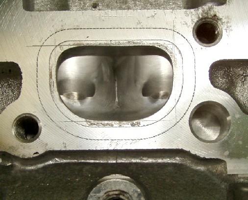 Mini Cooper Cylinder Head Modifications