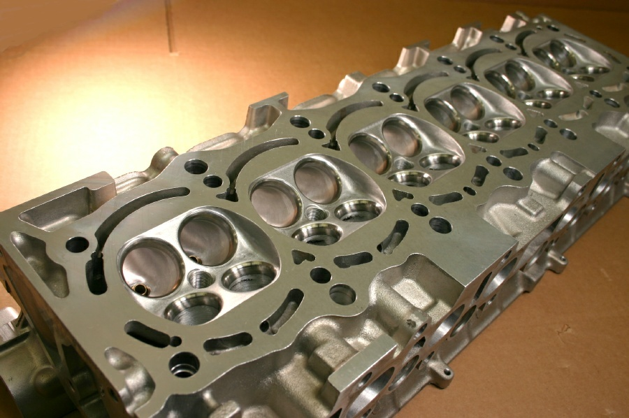 Toyota 2JZ CNC Cylinder heads